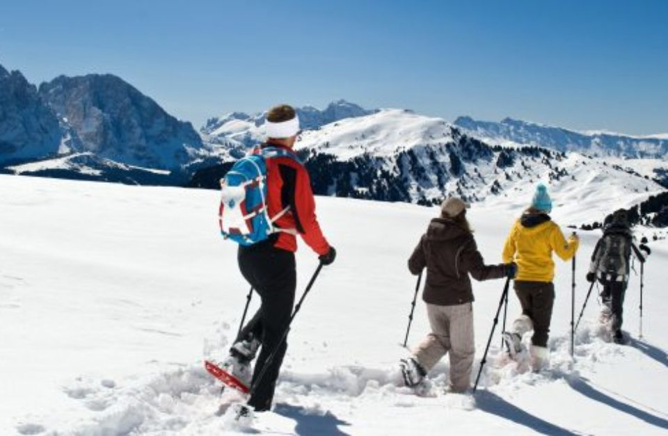 THE MOST BEAUTIFUL EXPERIENCES WITH SNOWSHOES IN THE DOLOMITES